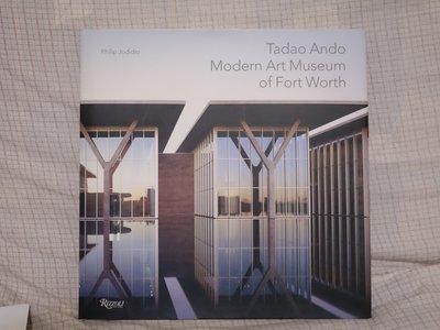 Tadao Ando 安藤忠雄-現代美術館書籍-Modern Art Museum of Fort Worth
