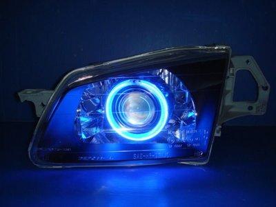 小亞車燈╠ 全新TIERRA.ACTIVA.MAZDA 323.LIFE藍光圈CCFL魚眼大燈