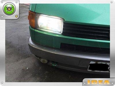 D18030713 VW T4 HID 大燈組升級 依現場估價為主