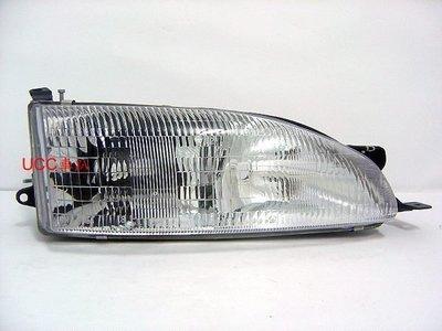 【UCC車趴】TOYOTA 豐田 CAMRY 冠美麗 95-96 原廠型 大燈 一組2600 (TYC製)