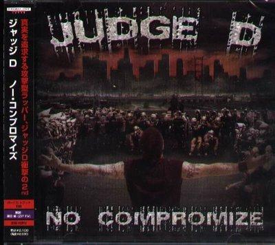 K - Judge D - NO COMPROMIZE - 日版 +1BONUS - NEW