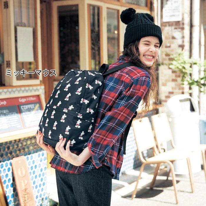 迪士尼Disney《預購》可折疊攜帶式後背包~米奇 奇奇蒂蒂~日本正品~共2款~心心小舖