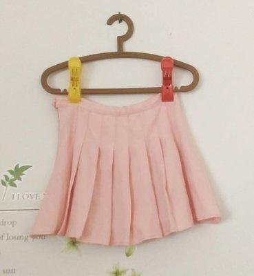 春夏款女裝學院風修身百褶裙 內有安全褲