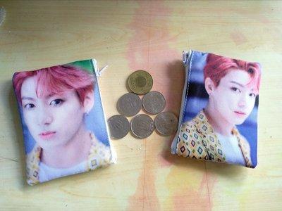 偶像王台北西門町明星商品訂製(158)BTS-jungkook-零錢包