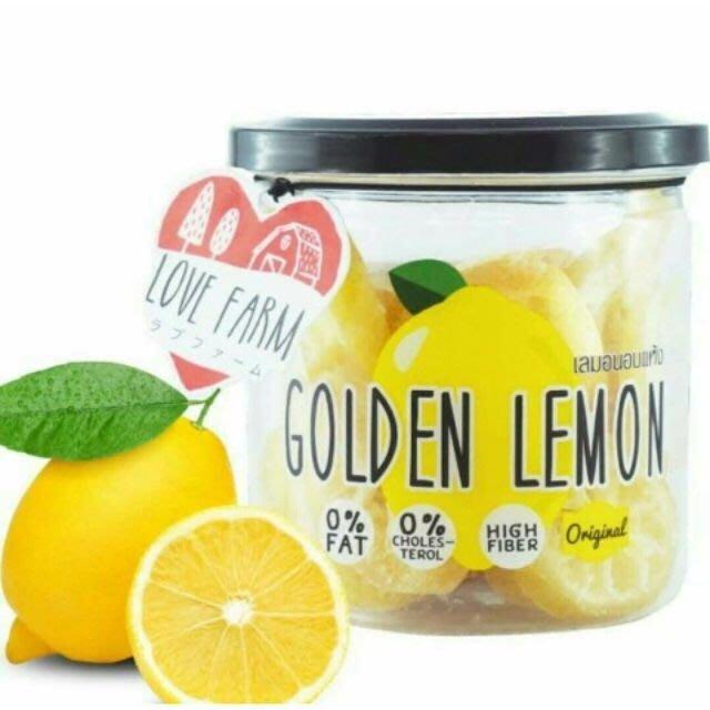 泰國 love farm 檸檬乾 就是愛檸檬 罐裝 120g