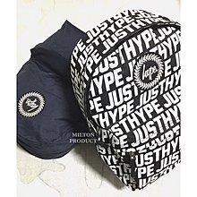 HYPE SPORTING TILE BACKPACK 黑色滿版白色logo後背包 限定款 justhype