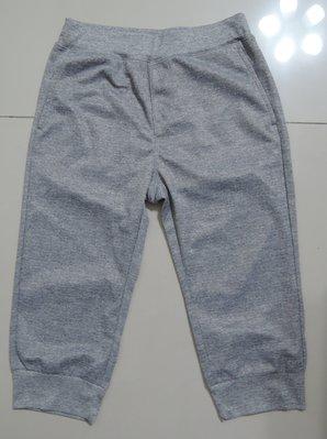 (二手,9成新,近全新)Uniqlo(140),灰色,鬆緊帶式