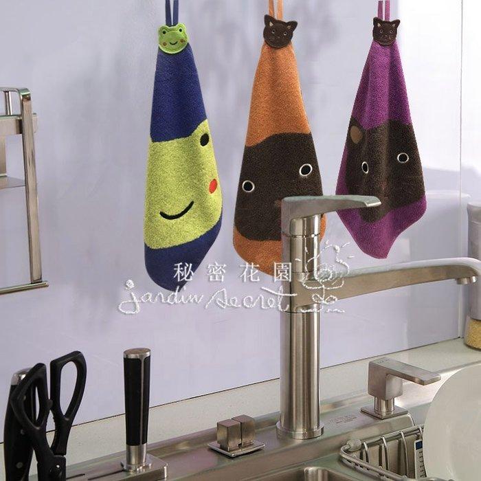 擦手巾--可愛動物純棉擦手巾/吸水抹布/廚房擦手巾(一)--秘密花園