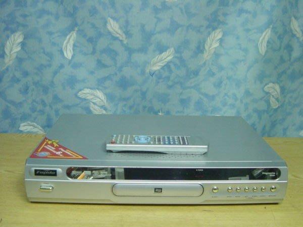 【小劉二手家電】富士達 DVD錄放影機,附遙控器,可轉拷成DVD,可預約錄影電視,壞機可修/抵!