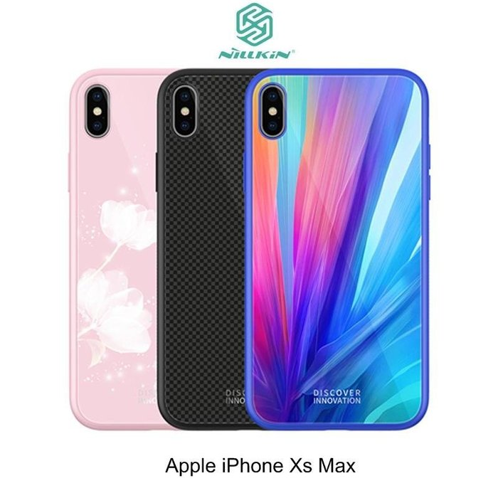 *PHONE寶*NILLKIN iPhone X/ Xs / Xs Max 晶曜保護套 手機殼 保護殼 玻璃背殼