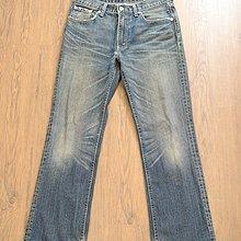 清衣櫃@levis 507 日本購入少見507類似503褲型