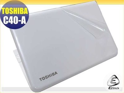 【EZstick】TOSHIBA Satellite C40-A 系列 二代透氣機身保護貼(含上蓋、鍵盤週圍)DIY 包膜