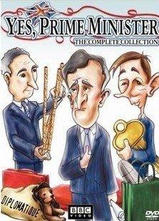 【是,首相Yes,Prime Minister】1-2季 2碟DVD