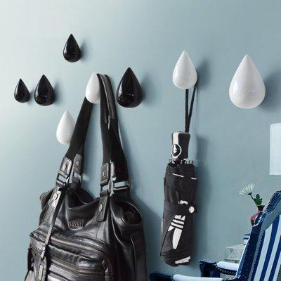 簡約 時尚 水滴造型 壁掛 創意 時尚 衣掛 掛鉤 衣服 包包 掛勾 衣架 衣帽架 衣帽勾