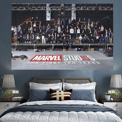 【M WareHouse】漫威MARVEL演員合集电影裝飾 掛布 掛毯 。B80307