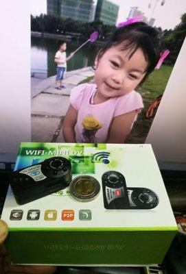 本店擁有正評1155 包郵寄 100%全新 WiFi Camera 遠程監控 720P HD  微型鏡頭 迷你數碼相機 攝錄 電:51141215