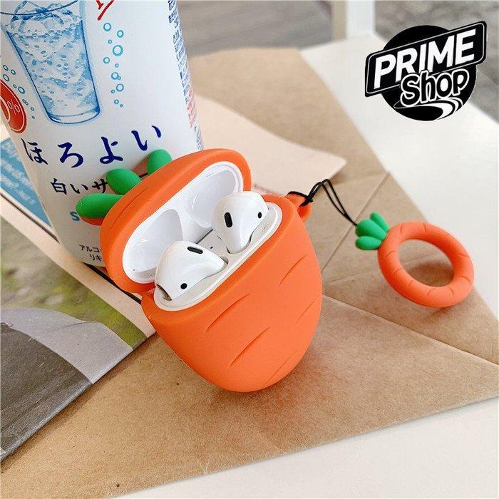 Prime Shop IG款 ins 網紅 仙人掌 AirPods 保護套 蘋果 藍牙 無線 耳機套 防丟繩 蘿蔔矽膠套