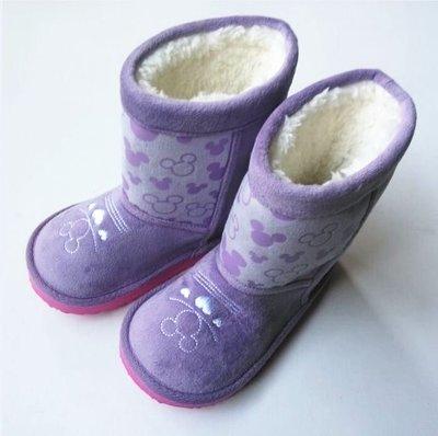暖呼呼陪您跨年過聖誕節超值好禮特別選超輕量女童防水雪地靴童鞋16-19cm