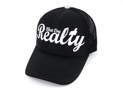 ☆二鹿帽飾☆【Realty】男女皆可‧潮流配色『丹寧風』國旗網帽.棒球帽/街舞風格-黑白色