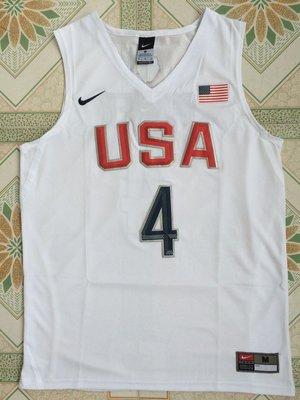 NBA 球衣 新款  夢幻12隊 白色 4~15號 IRVING 歐文 杜蘭特 湯普森 GREEN 球員