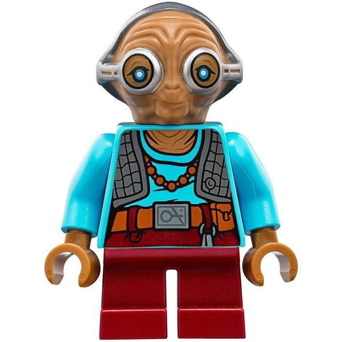 現貨【LEGO 樂高】全新正品 益智玩具 積木/ Star Wars 星際大戰 75139 | 單一人偶: 瑪茲 卡娜塔