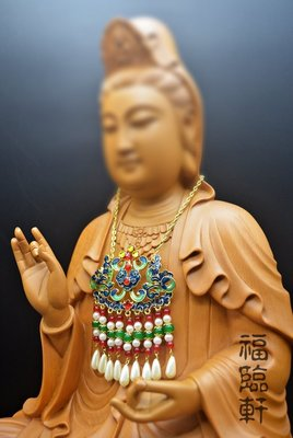 【福臨軒】精品神明金牌 手工合金雙色雙鳳索片 鎖片  8寸8 1尺3 1尺6神像 神明配件