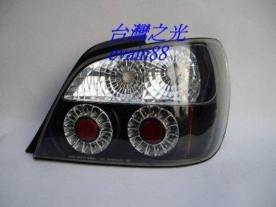 《※台灣之光※》全新SUBARU速霸路01 02 03年硬皮鯊GDA WRX IMPREZA超酷LED黑底尾燈組