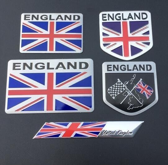 ⑦色花**適用於名爵MG MG6捷豹 路虎 金屬 英國 國旗車貼迷你MINI米旗車標
