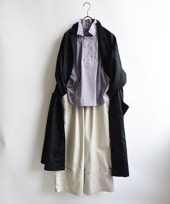  The Dood Life Haddow ハミット ダブルボタンの変形衿シャツ / 雙排釦變形領襯衫