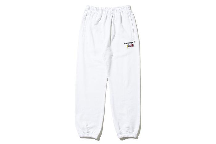"[ LAB Taipei ] BlackEyePatch ""NAUTICAL SWEAT PANTS""(White)"
