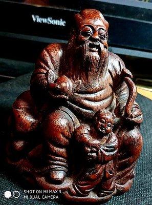 【竹雕館】~  清 福祿壽翁 景氣不好,貼些好東西讓大家看看,別的平台應沒有這一級的東西