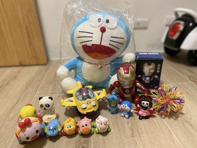 玩具福袋 二手玩具 車子 男童 女童 小叮噹 哆啦a夢 玩偶 全新 Doraemon 絨毛娃娃