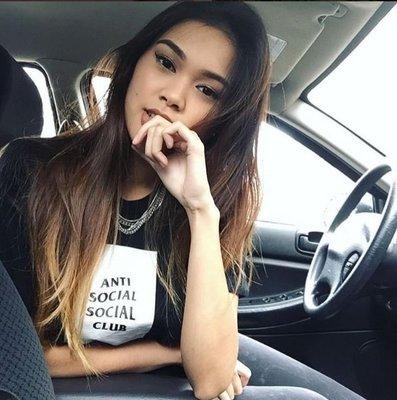 【日貨代購CITY】2017SS Anti Social Social Club BOX 短TEE 黑色 現貨