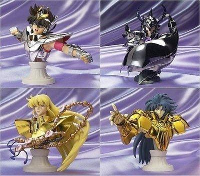 日版 聖鬥士星矢 聖衣神話 APPENDIX 胸像 天馬 處女 雙子 天猛星 四組