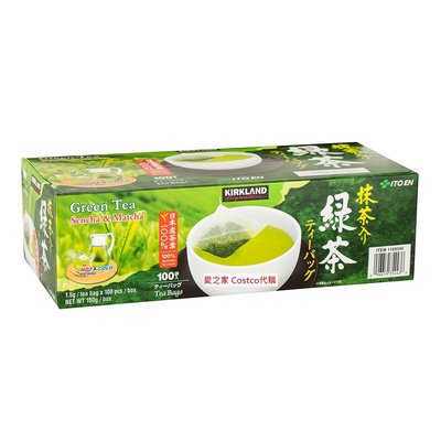 costco代購 #1169345 Kirkland Signature 科克蘭 日本綠茶包 1.5公克X100入/組
