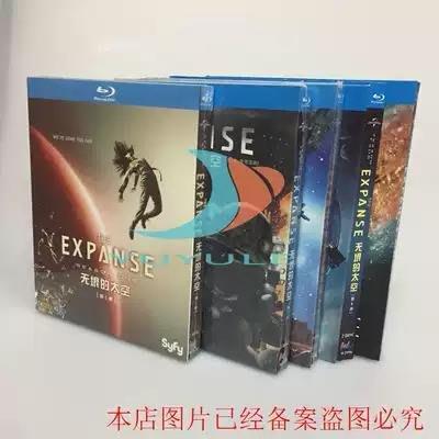現貨~BD藍光碟  電視劇 無垠的太空 1-5季 蒼穹浩瀚 The Expanse完整版