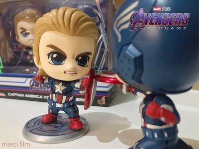 美國隊長對打 Captain America vs Captain America Cosbaby Hot Toys
