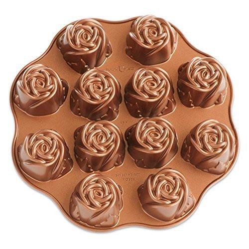【Sunny Buy 生活館】Nordic Ware 甜心玫瑰烤盤 烤模 烤箱 烘焙 蛋糕模