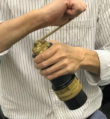 「預購」 Rosco Hand Grinder 手搖磨豆機 手柄加長版 澳洲手工 2019年款 非 海勒 Comandante c40 Kinu