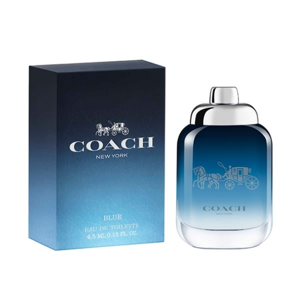 【美妝行】Coach BLUE 時尚藍調男性淡香水 小香 4.5ml