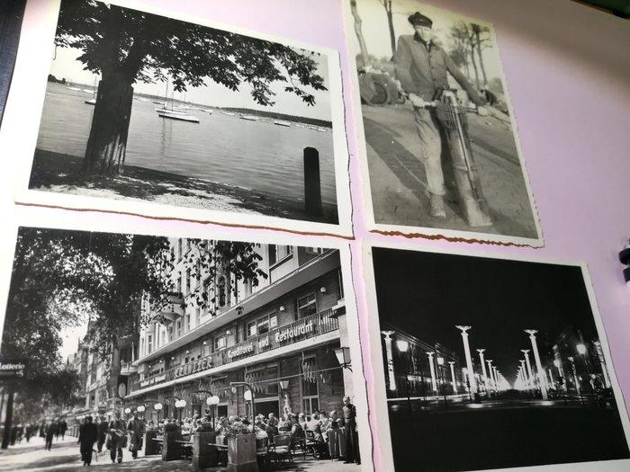 銘馨易拍重生網 PSS767 早期(1970年代)外國景色 建築、街景人物 寫真寫實照卡 如圖(4張珍藏回憶) 特價讓藏