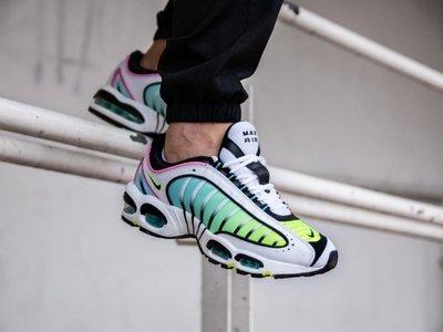 (阿信)Nike Air Max Tailwind IV 慢跑潮鞋 休閒潮鞋 黃綠 粉 氣墊 男潮鞋 AQ2567-103