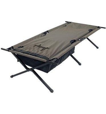 美國..Slumberjack~「超豪華」行軍床...內建自動充氣睡墊