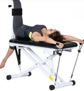 [奇寧寶雅虎館]290081-03 多功能可折疊收納拉筋凳 / 拉筋椅 拉筋板 拉筋器 健腹器
