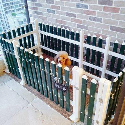 ☜男神閣☞寵物柵欄狗狗圍欄小型犬泰迪狗柵欄可拆卸柵欄 隔離門寵物狗籠子