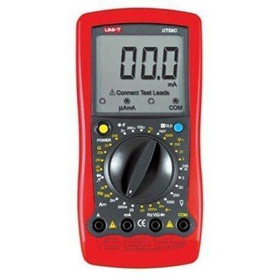 TECPEL 泰菱》UNI-T 優利德 UT58C 防插錯 三用電表 三用電錶 電阻 電容 溫度 UT-58C
