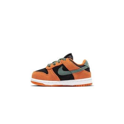 GOSPEL【Nike Dunk Low「Ceramic」TD 】黑橘 小童鞋 DC8315-001