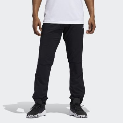 【豬豬老闆】ADIDAS BB WOVEN PANT 黑色 長褲 休閒 運動 訓練 籃球 男款 GK4610