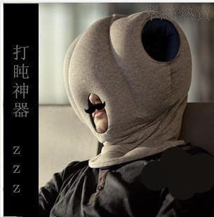 神奇鴕鳥枕 聖誕節 交換禮物 護頸護脖枕 辦公室午睡枕 旅行枕 車枕 頭枕 靠枕 學生午休枕