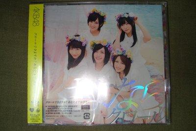 AKB48 Sayonara Crawl 再見自由式 CD+DVD Type B 普通版 2013年